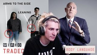 xQc Reacts to Former FBI Agent Explains How to Read Body Language | Tradecraft | WIRED | xQcOW