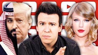 A Short Goodbye, Taylor Swift's Profit Play, Trump's Historic Saudi Arabia Response & More...
