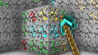 Minecraft BUT You Can Mine An Entire Chunk!