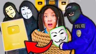 SPY NINJA REGINA Ginera in DANGER !😱Play Button Stolen by Hackers ! CHAD WILD CLAY VY QWAINT VY CWC