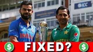 ARE INDIA vs PAKISTAN MATCHES FIXED?