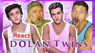 Montana guys react to Dolan Twins!