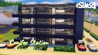 Conifer Station Apartment | Sims 4: Cinematic Tour