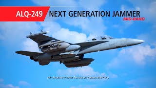 Raytheon - EA-18G Growler Aircraft Equipped With ALQ-249 Next Generation Jammer Mid-Band [1080p]