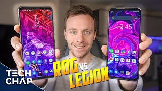 Legion Duel 2 vs ROG Phone 5 - ULTIMATE Gaming Phone Showdown!