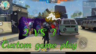 free fire game paly #custo_game #free_fire_lover# new videos two vs three