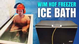 Wim Hof - Convert Your Freezer into an Ice Bath Plunge Pool (UK version)