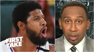 Paul George is making Stephen A. nervous about picking the Lakers to win it all | First Take