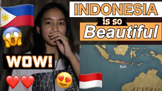 FILIPINO reacts to 10 Best Places to Visit in Indonesia (TAKE ME TO INDONESIA!)
