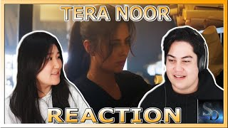 Tera Noor REACTION!!! | Tiger Zinda Hai | Katrina Kaif | Salman Khan | ACTION!!!