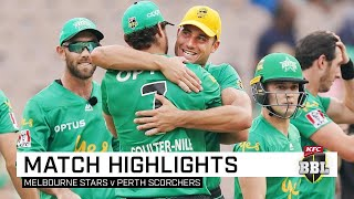 Never-say-die Stars topple the Scorchers | KFC BBL|09