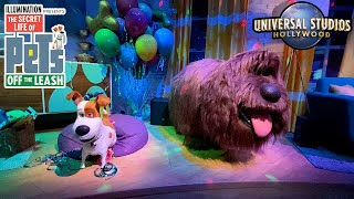 The Secrets Life of Pets: Off The Leash FULL RIDE ONLY at Universal Studios Hollywood