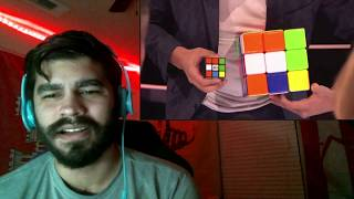 BEST Magic Show in the world - Genius Rubik's Cube Magician America's Got Talent {{REACTION}}