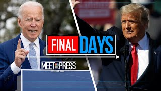 Meet The Press Broadcast (Full) - November 1st, 2020 | Meet The Press | NBC News