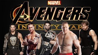 Avengers Infinity War  Official Tamil Trailer  WWE Version Media Rockers 2018