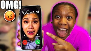CALLING VY QWAINT! OMG PROJECT ZORGO HACKER KIDNAPPED HER ON THE PHONE! Chad Wild Clay Spy Ninjas