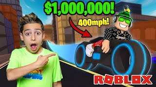 BUYING the FASTEST Car on ROBLOX! ($1,000,000) | Royalty Gaming