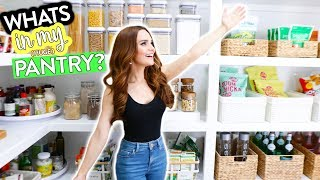 Whats In My BIG Organized Pantry?!