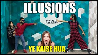 This is wow Museum of Illusions New Delhi | Harpreet SDC