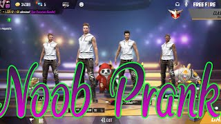 NOOB Prank #game_paly #free fire lover# new videos