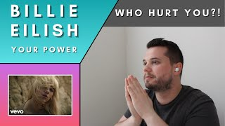Jazz Musician Reacts: BILLIE EILISH - Your Power (Official Music Video)