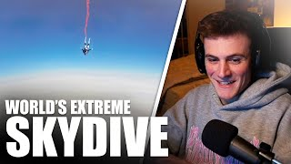 World's Most Extreme Skydive 😱 | DAVE Reaction