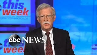 John Bolton on Trump leaving office: 'I do not expect him to go graciously' | ABC News