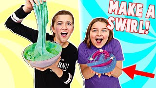 TURN THIS SLIME INTO A 3 COLOR SLIME SWIRL!! | JKREW