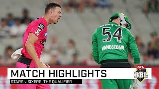 Sixers scythe through Stars to fly into BBL final | KFC BBL|09